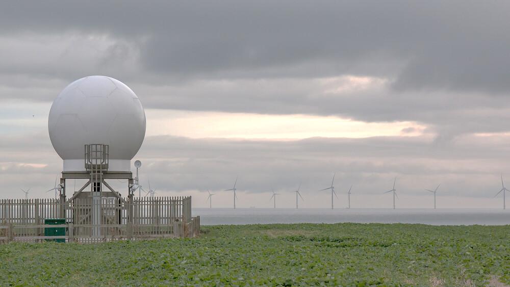沃旭引入原定雙都卜勒雷達,風場群聚效應外,也能協助氣象局改進風場、風能預報,有助於台電開發風電預測系統。該計畫一度中斷,目前已持續相關作業程序。圖片來源:沃旭能源