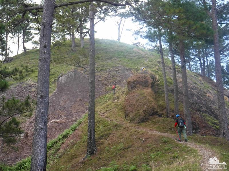 The last climb