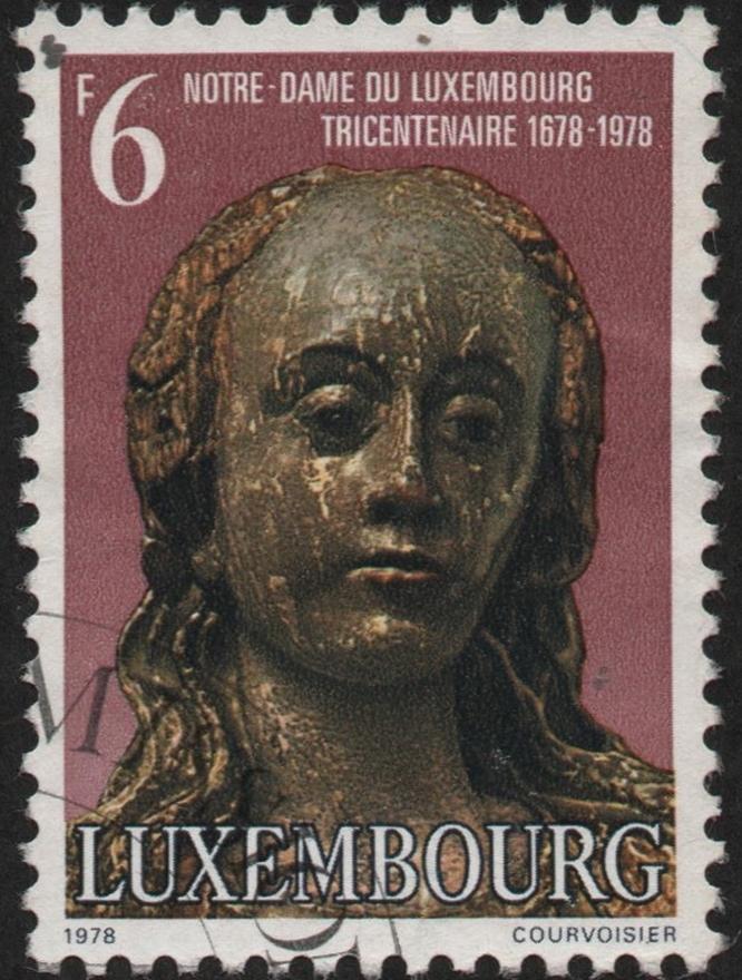 Luxwembourg - Scott #612 (1978)