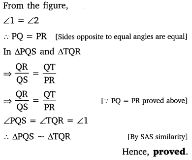 NCERT Solutions for Class 10 Maths Chapter 6 Triangles 30