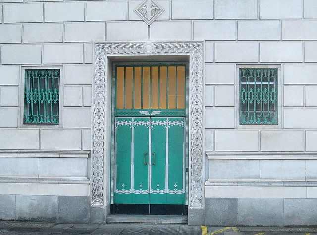 Door and Window Detail, George's Dock Ventilation and Control Station, Liverpool