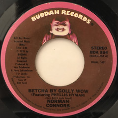 NORMAN CONNERS:BETCHA BY GOLLY, WOW(LABEL SIDE-A)