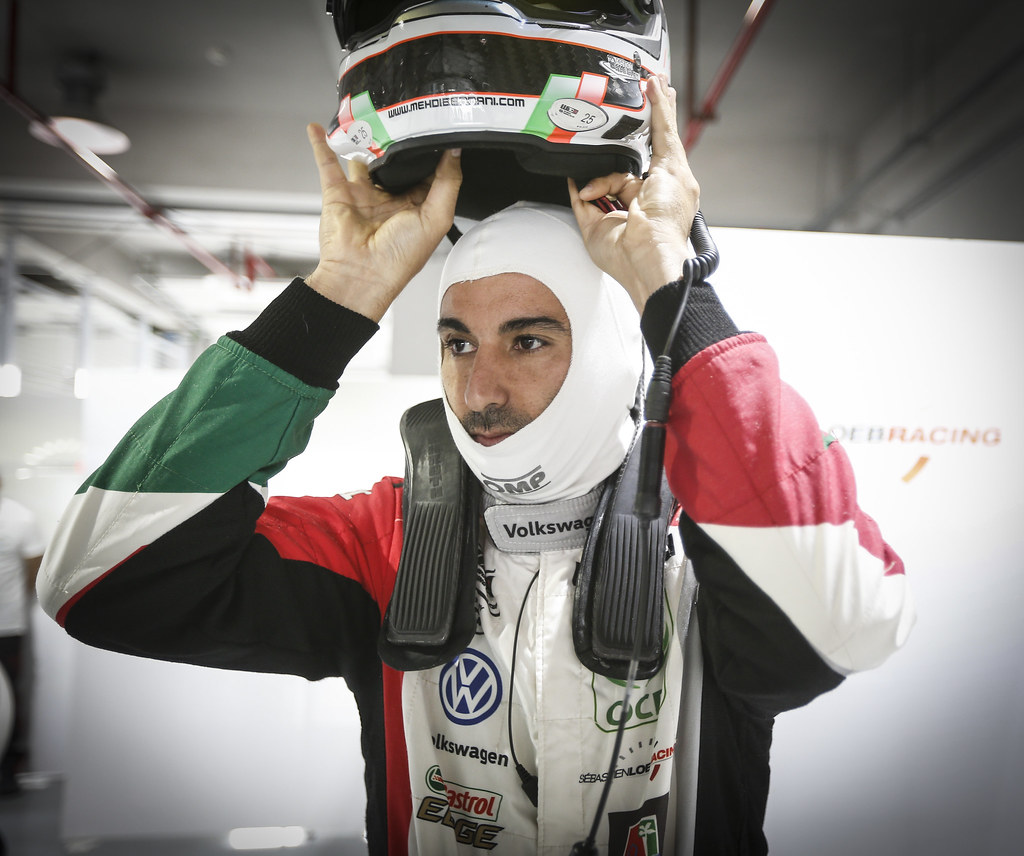 BENNANI Mehdi (mar), Volkswagen Golf GTI TCR team Sebastien Loeb Racing, portrait during the 2018 FIA WTCR World Touring Car cup of China, at Ningbo  from September 28 to 30 - Photo Jean Michel Le Meur / DPPI