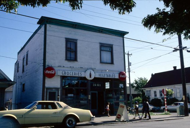 Central District grocery store, circa 1980