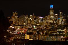 San Francisco Skyline viewed from Potrero Hill, 02 October 2018