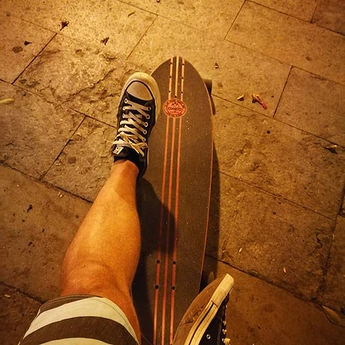 #inlove with this baby #longboard @oxeloskateboards although it's not mine but that doesn't mean I can't enjoy it!!! 😂😍 | by woss