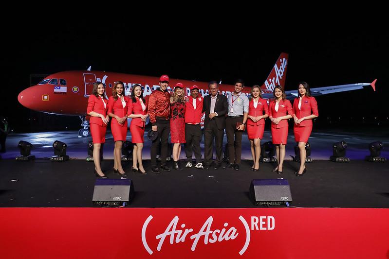 AirAsia Umum Kerjasama dengan (RED) & 88rising