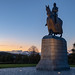 Robert the Bruce sunset