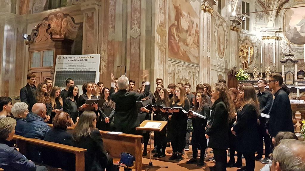 """Rassegna del Santo 2018 06 - 10 - 2018 Il Coro del Liceo Musicale """" Candiani - Bausch """""""
