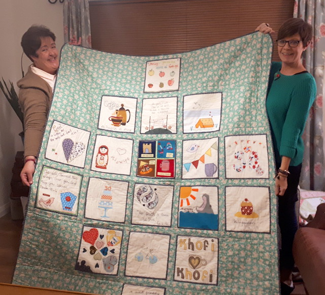 Shirleys Friendship Birthday Quilt