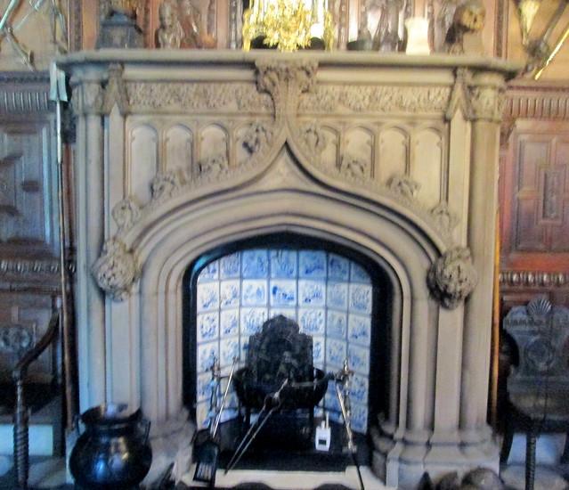 Abbotsford Fireplace, Sir Walter Scott, Abbotsford