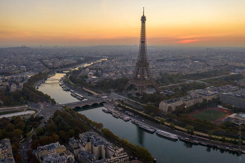 DJI Mavic Pro 2 Eiffel