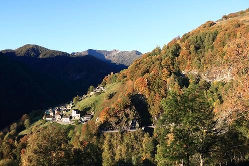 Spruga, Valle Onsernone
