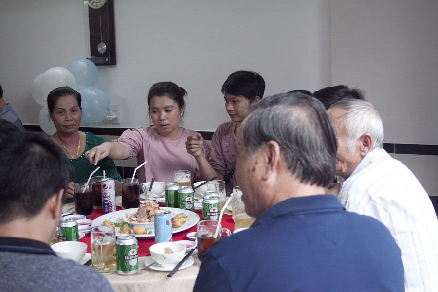 Ảnh Tiệc đầy tháng tại nhà của Bé Khôi Nguyên Nhà Hàng Quá Ngon