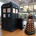 Doctor Who TARDIS & Dalek - BBC Birmingham, October 2018