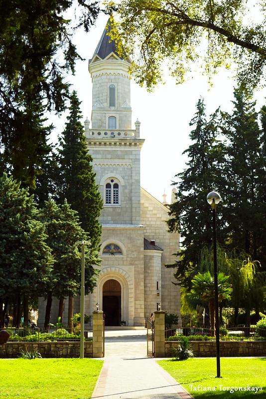 Вид на собор Святого Преображения