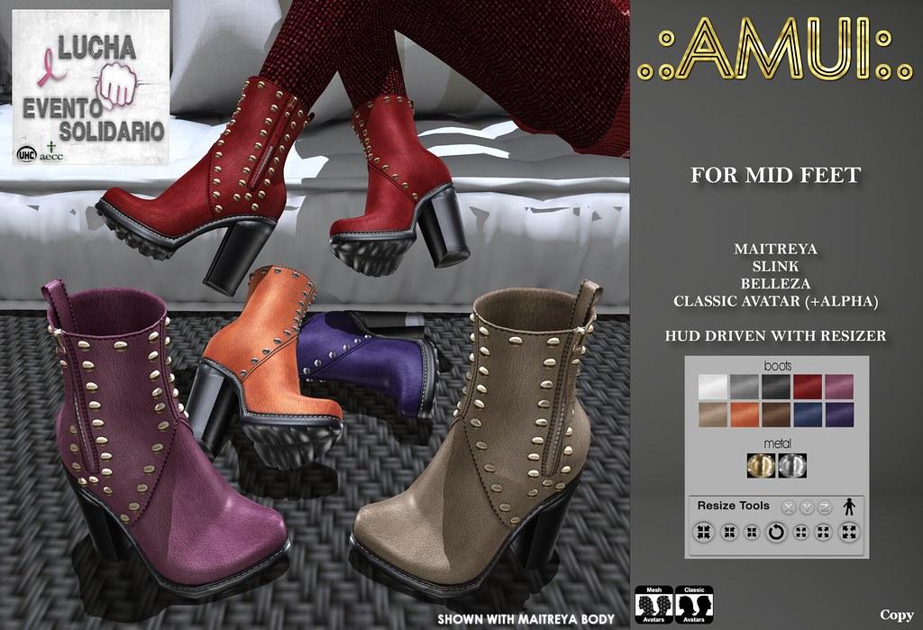 ".:AMUI:. ""Lana"" Boots"