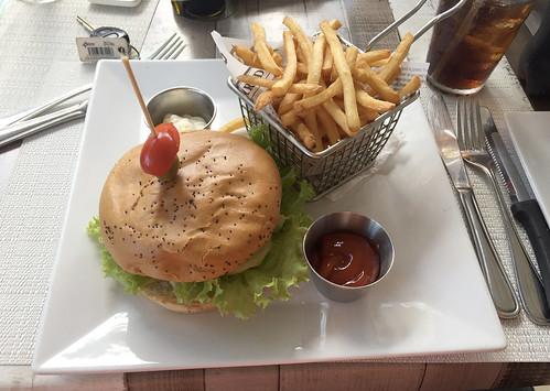 Chicken Tzatziki Burger - Margot Restaurant- Sosua