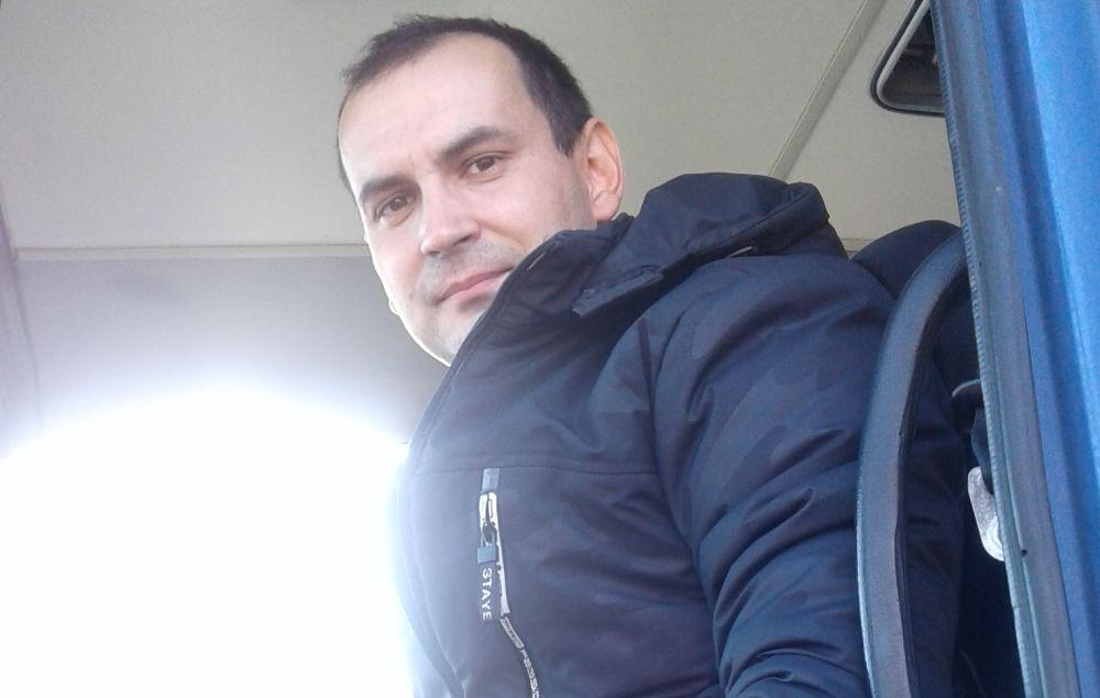 Иван Богданов, водитель