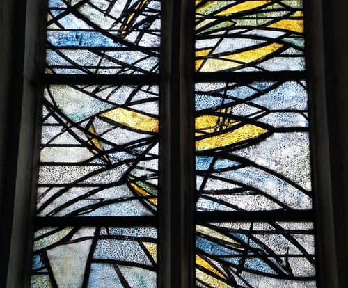 Fenster, Südliches Schiff, Ausschnitt, Günter Grohs, Wernigerode