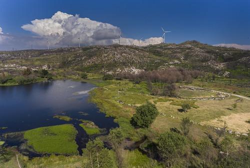 Vouzela: barragem de Meruje
