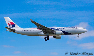 Aircraft: Malaysia Airlines (Ex.Air Berlin) Airbus A330-223 9M-MTW