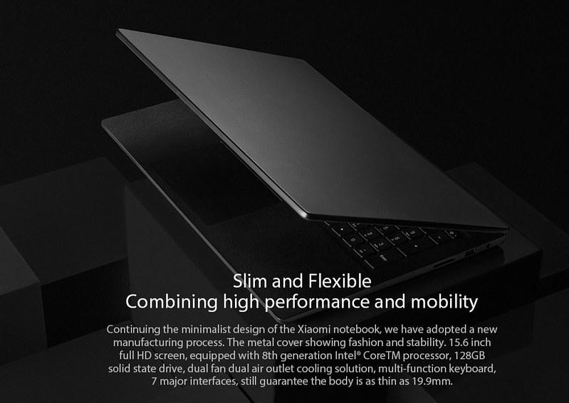 2018 Xiaomi Mi Notebook レビュー (4)