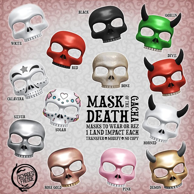 mask of the death key