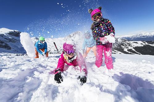 Skifahren im Nassfeld