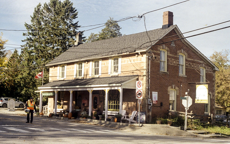 Fundraising in Front of the General Store_