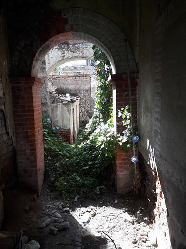 Old abandon homes in mexico