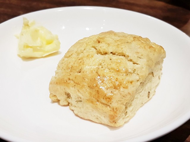 Swan Lake Scone Rosemary & Sea Salt With Butter