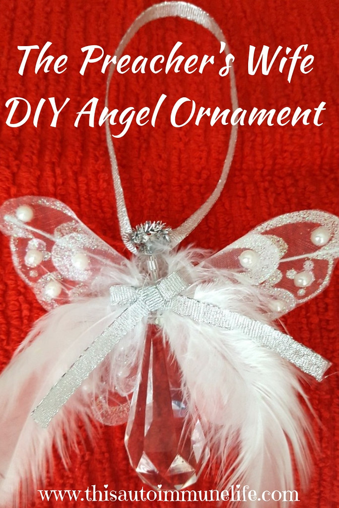 The Preacher's Wife DIY Angel Ornament Pinterest