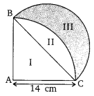 Areas Related To Circles Class 10 Maths NCERT Solutions Ex 12.3 PDF