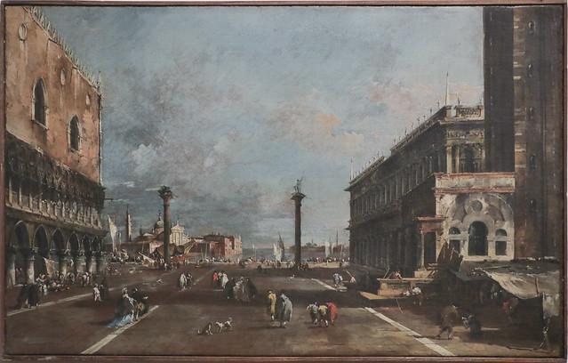 Vedura della piazzetta verso S.Giorgio, Francesco Guardi, Venezia 1712-1793