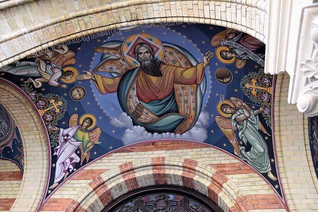Catedral de la Santa Trinidad (Sibiu,  Transilvania, Rumanía, 19-8-2018)