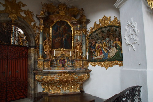 Interieur abdijkerk Muri.