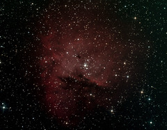 NGC281 in Cassiopeia (Pacman) RGB