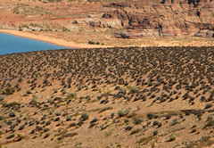Lake Powell in Utah/Arizona, USA