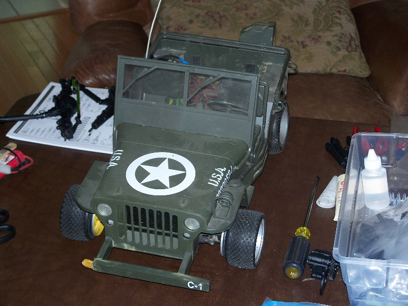 Building an RC sixth scale Jeep 31651743008_37d50605d9_b