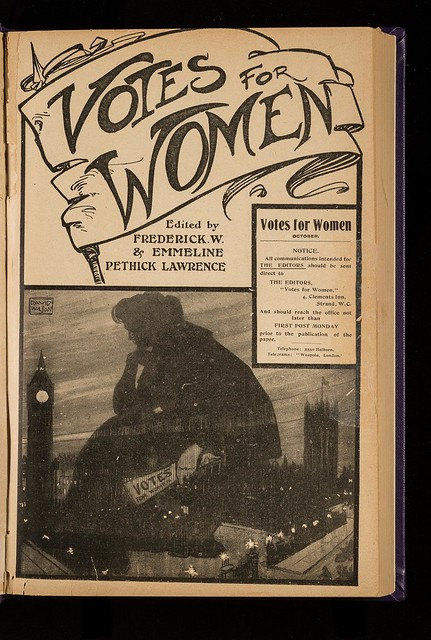Votes for Women, October 1907. Credit: LSE Library
