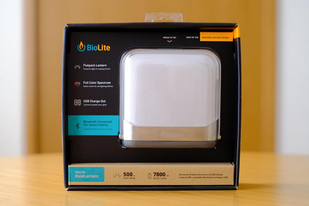 BioLite ベースランタン パッケージ