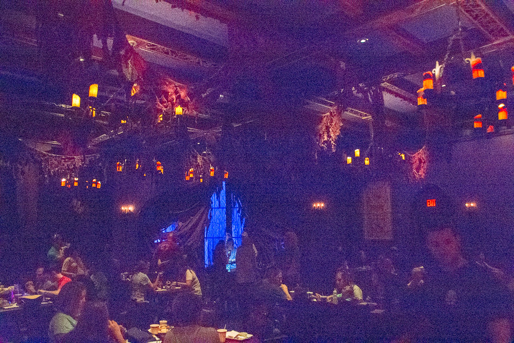 Dark room at Be our Guest