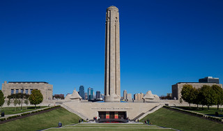 National WWI Memorial and Cityscape | by KC Mike Day