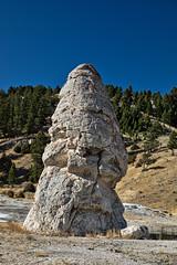 Liberty Cap - Mammoth Hot Springs