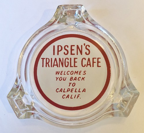 IPSEN'S TRIANGLE CAFE CALPELLA CALIF