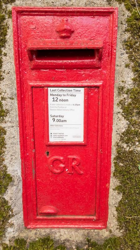 Lime Street Moretonhampstead Letterbox