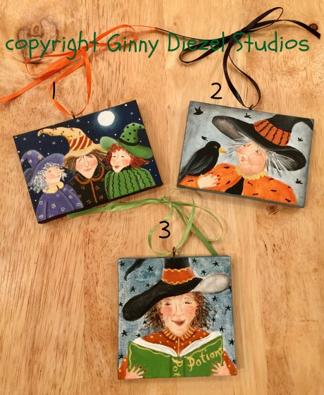 witchy ornaments