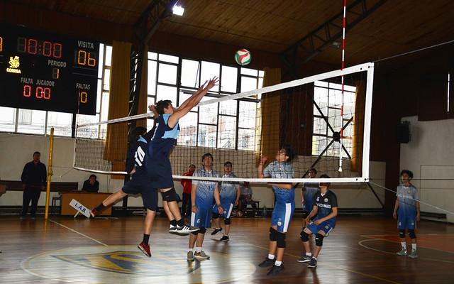 DIA 1 Camp Nacional Voleibol Salesiano ISV 2018