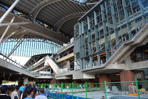 台中車站臨時通道